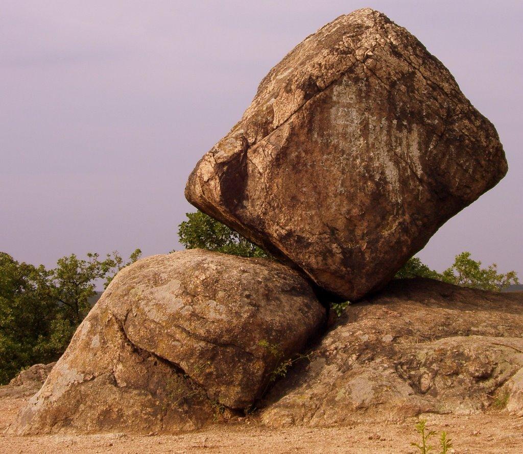 Ingó-kő Cube rock formation
