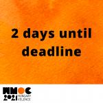 2 days until deadline