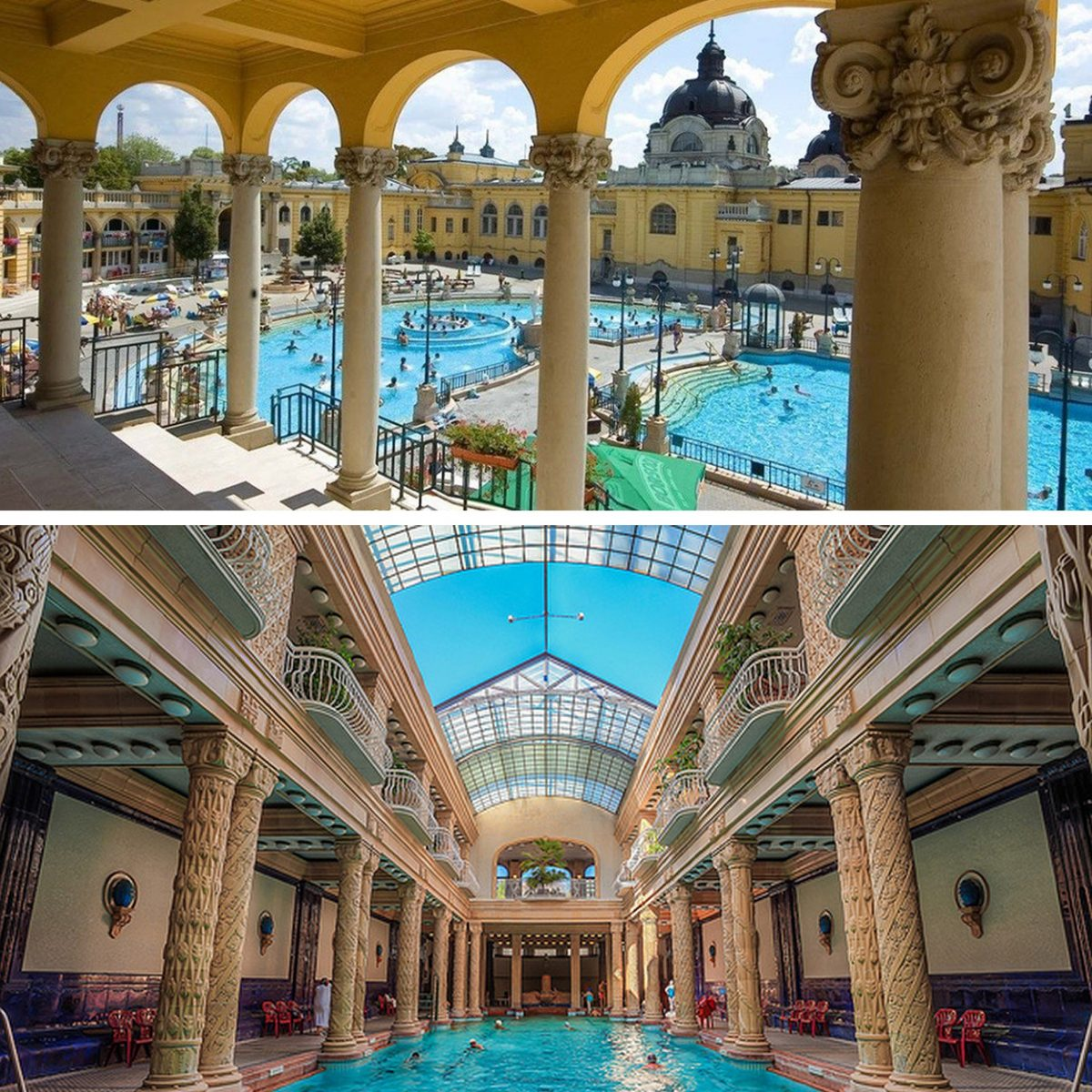 Thermal Baths of Budapest