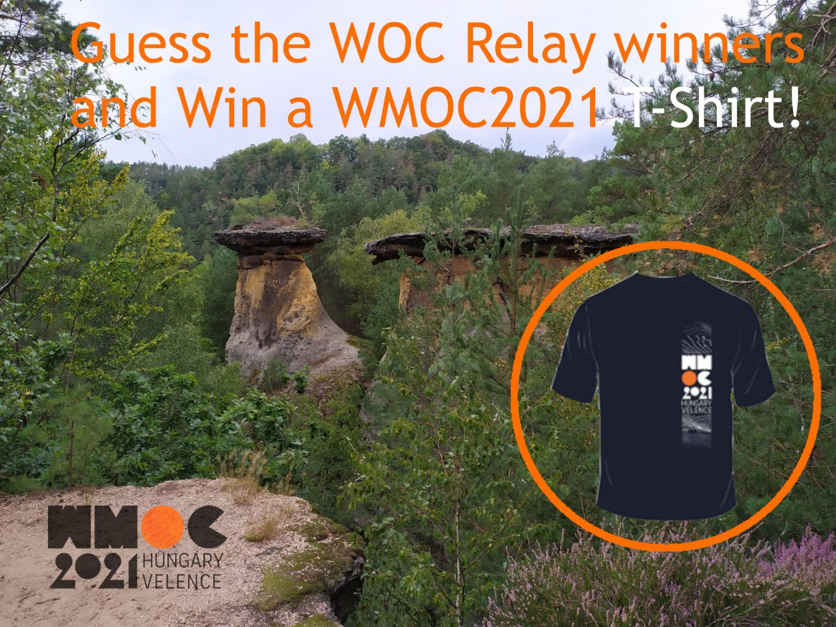 Guess and Win a WMOC 2021 Technical T-Shirt