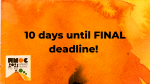 10 day left